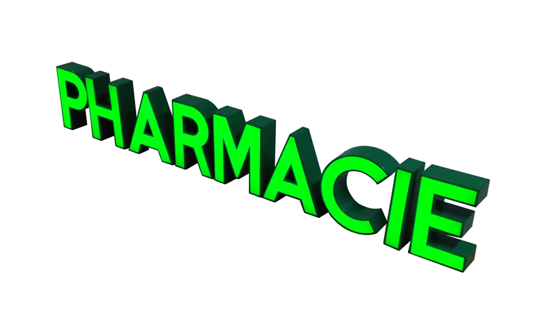 Pharmacie Çclairage Ö led